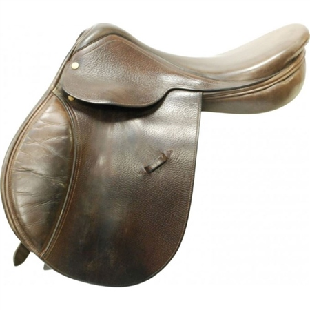 Second Hand English General Purpose Saddle 17inch Narrow  - Click to view a larger image