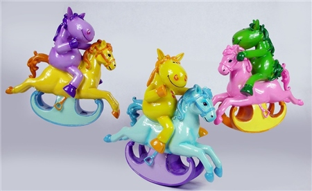 Grays Gifts Money Box Swing Horse (Assorted Colours)  - Click to view a larger image