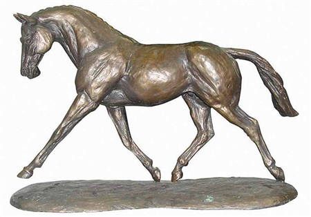Grays Gifts Grays Bronzed Trotting Warmblood  - Click to view a larger image
