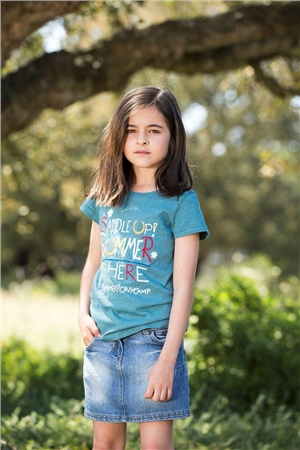 Horseware Clothing Horseware Girls Novelty TShirt  - Click to view a larger image