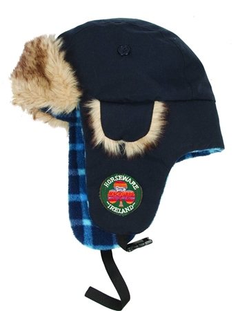 Horseware Clothing Newmarket Kids Hunter Style Hat  - Click to view a larger image