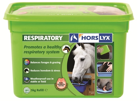 Horslyx Respiratory Lick Refill 5kg  - Click to view a larger image