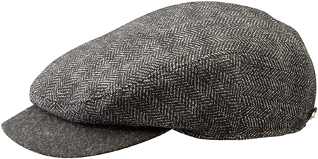 Stetson Hats Stetson Horn Tweed Peak Cap  - Click to view a larger image