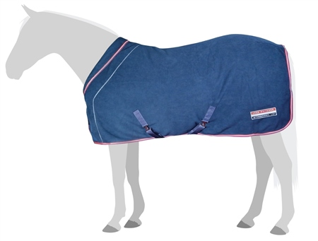 John Whitaker London Roll Neck Fleece Rug  - Click to view a larger image