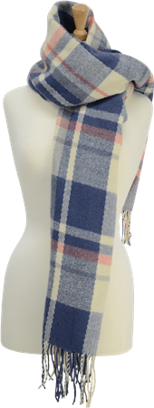 Hy Horse Wear HyFASHION Ladies Supersoft Tartan Scarf  - Click to view a larger image