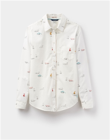 Joules Lucie Classic Printed Shirt  - Click to view a larger image