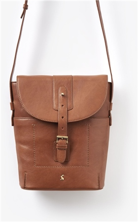 Joules Tourer Leather Cross Body Bag  - Click to view a larger image