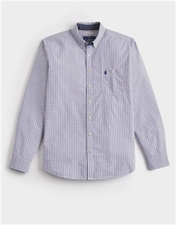 Joules Mens Hewney Long Sleeve Classic Shirt  - Click to view a larger image