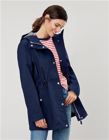 Joules Shoreside Waterproof A-Line Coat  - Click to view a larger image