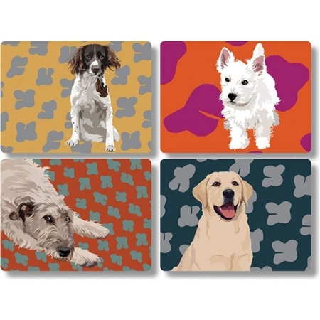 Leslie Gerry Table Mat Set  - Click to view a larger image