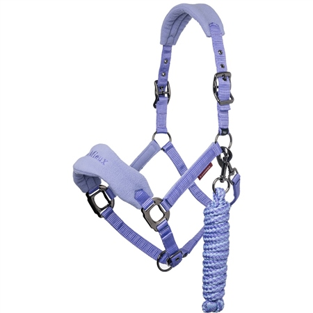 LeMieux Vogue Fleece Headcollar and Rope  - Click to view a larger image