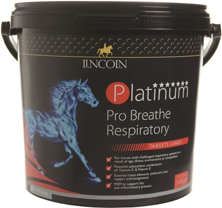 Lincoln Platinum Pro Breath Respiratory  - Click to view a larger image