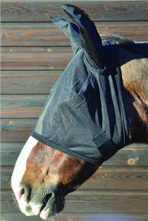 Hy Horse Wear HY Fly Mask with Ears  - Click to view a larger image