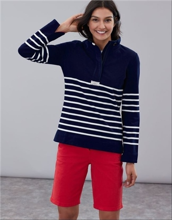 Joules Saunton Classic Funnel Neck Sweatshirt  - Click to view a larger image