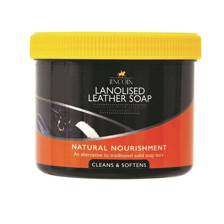 Lincoln Lanolised Saddle Soap  - Click to view a larger image
