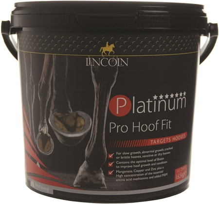 Lincoln Platinum Pro Hoof Fit  - Click to view a larger image