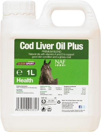 NAF Cod Liver Oil  - Click to view a larger image