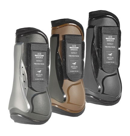 KM Elite Air Shock Tendon Boots  - Click to view a larger image