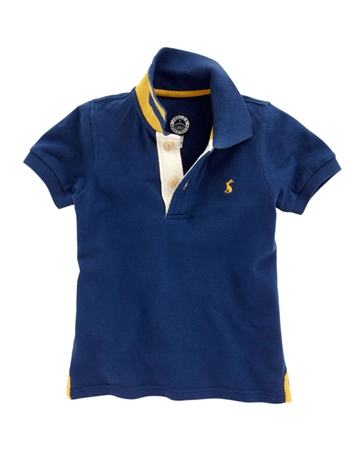 Joules Junior Woody Boys Polo  - Click to view a larger image