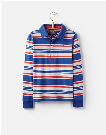 Joules Boys Woodrow Rugby Shirt  - Click to view a larger image