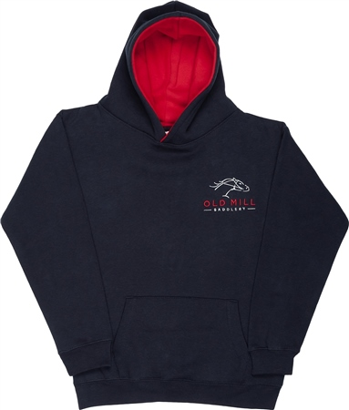 Old Mill Saddlery Old Mill Branded Junior Premium Hoodie  - Click to view a larger image