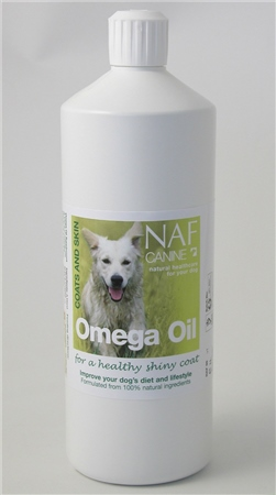NAF Canine Omega Oil  - Click to view a larger image