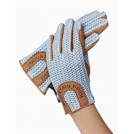 Mountain Horse Crochet Gloves  - Click to view a larger image