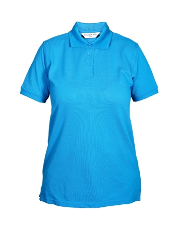 P2P.ie Ladies Fitted Polo Shirt  - Click to view a larger image