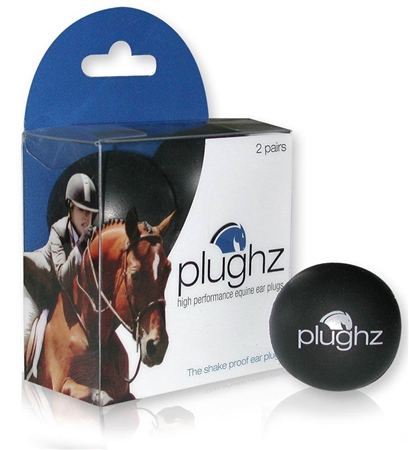 Plughz Equine Ear Plugs  - Click to view a larger image