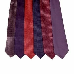 Racesafe Adult Pinhead Spot Show Tie  - Click to view a larger image