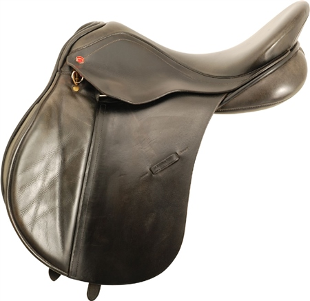 Second Hand Albion General Purpose Saddle Black 18 inch Wide  - Click to view a larger image
