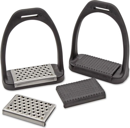 Shires Lightweight Multi Tread Stirrups  - Click to view a larger image