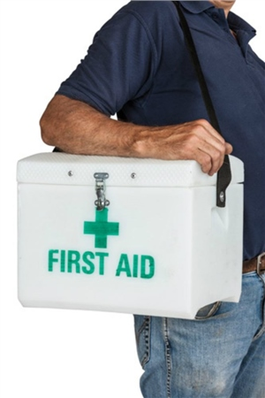 Stubbs England Stubbs First Aid Box With Shoulder Strap  - Click to view a larger image