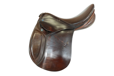 Second Hand Stubben Roxane General Purpose Saddle 17.5 inch  - Click to view a larger image