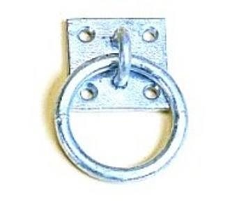 Stubbs England Stubbs Tie Ring Plate  - Click to view a larger image
