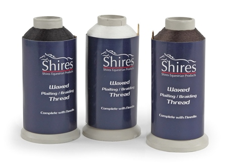 Shires Waxed Plaiting Thread  - Click to view a larger image