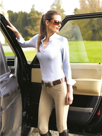 Tredstep Ireland Tredstep Symphony No.3 Rosa Breeches with Knee Patch  - Click to view a larger image