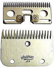 Wolseley A6 Coarse Blades  - Click to view a larger image