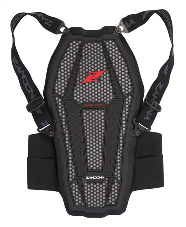 Zandona Esatech Back Protector Equitation With Braces  - Click to view a larger image