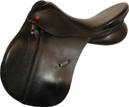 Second Hand Albion K2 Legend GP Saddle Black 18 inch Narrow width  - Click to view a larger image