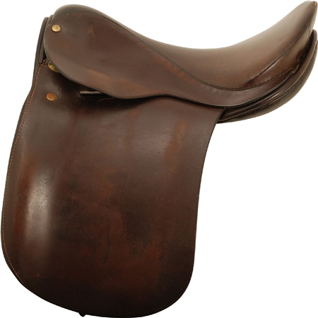 Second Hand A Chase Show Saddle Brown 15 inch Medium  - Click to view a larger image