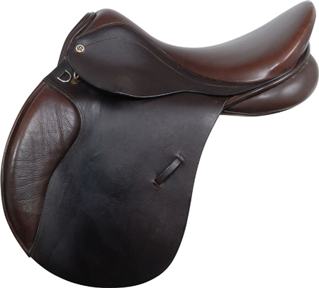 Second Hand Cliff Barnsby General Purpose Saddle Brown 18 inch Medium  - Click to view a larger image