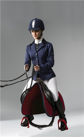 Equi-Theme Soft Colour Competition Jacket  - Click to view a larger image