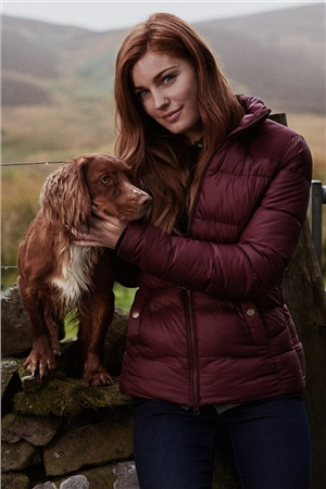 Barbour Brecon Ladies Quilted Jacket  - Click to view a larger image