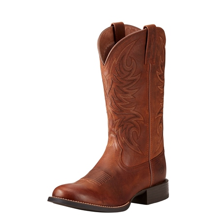Ariat Mens Sport Horseman Western Boot  - Click to view a larger image