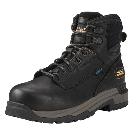 Ariat Ariat Mens Mastergrip 6inch H2O Ct En Iso Boot  - Click to view a larger image