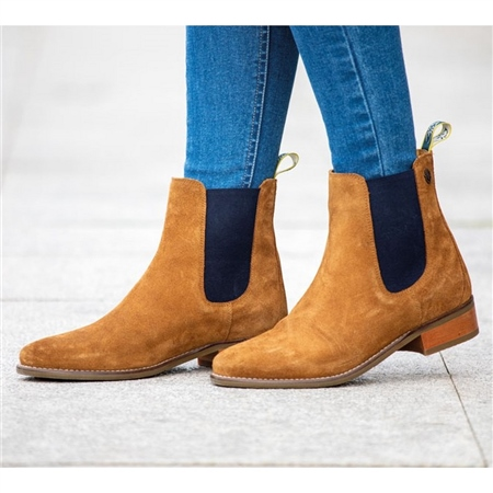 Moretta Ladies Rosalie Chelsea Boots  - Click to view a larger image
